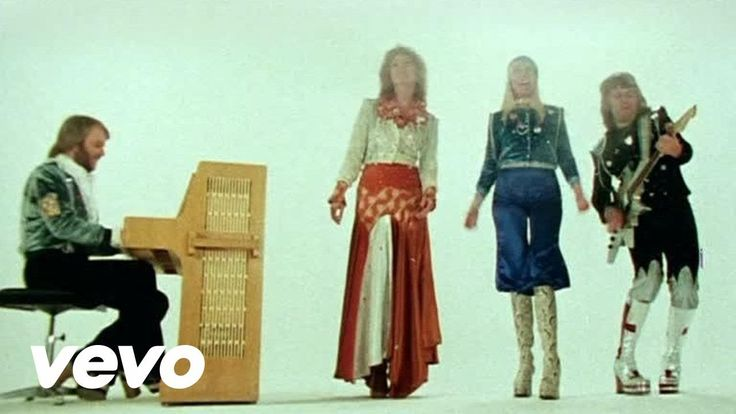 Abba - Waterloo. Because 41 years ago, this was the song that started it all for ABBA. And dig that 70s fashion! :p
