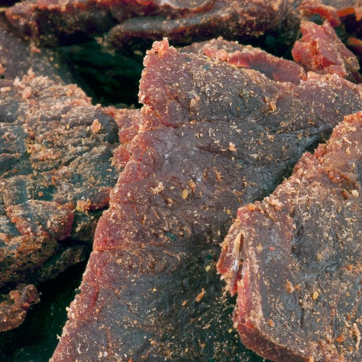 Up North Jerky Outlet : Honey BBQ - Smoked Beef Jerky (1lb Bag)