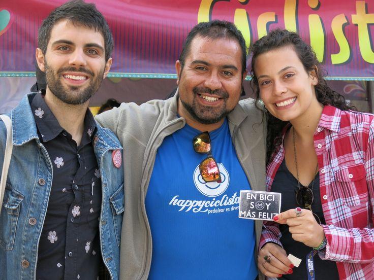 LOS HAPPYS EN LOLLAPALOOZA 2014, con nuestros amigos proveniente de Brasil!