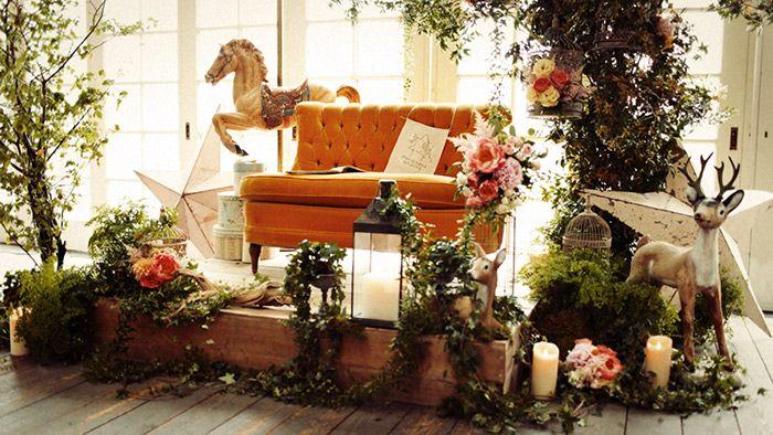 Stage/髙砂/ケーキ/ crazy wedding / ウェディング / 結婚式 / オリジナルウェディング/ オーダーメイド結婚式/おとぎ話/絵本