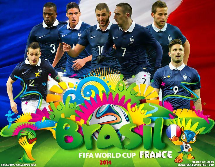 France World Cup 2014 Wallpaper By Jafarjeefdeviantartcom On