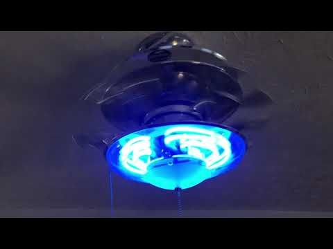 4853 best fans images on pinterest black ceiling fan blankets 52 harbor breeze neon ceiling fan youtube aloadofball Choice Image