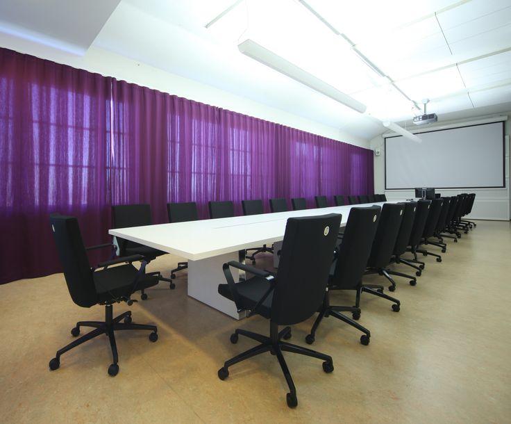 In-tensive table (design Jouni Leino) and Select chairs (design Harri Korhonen)