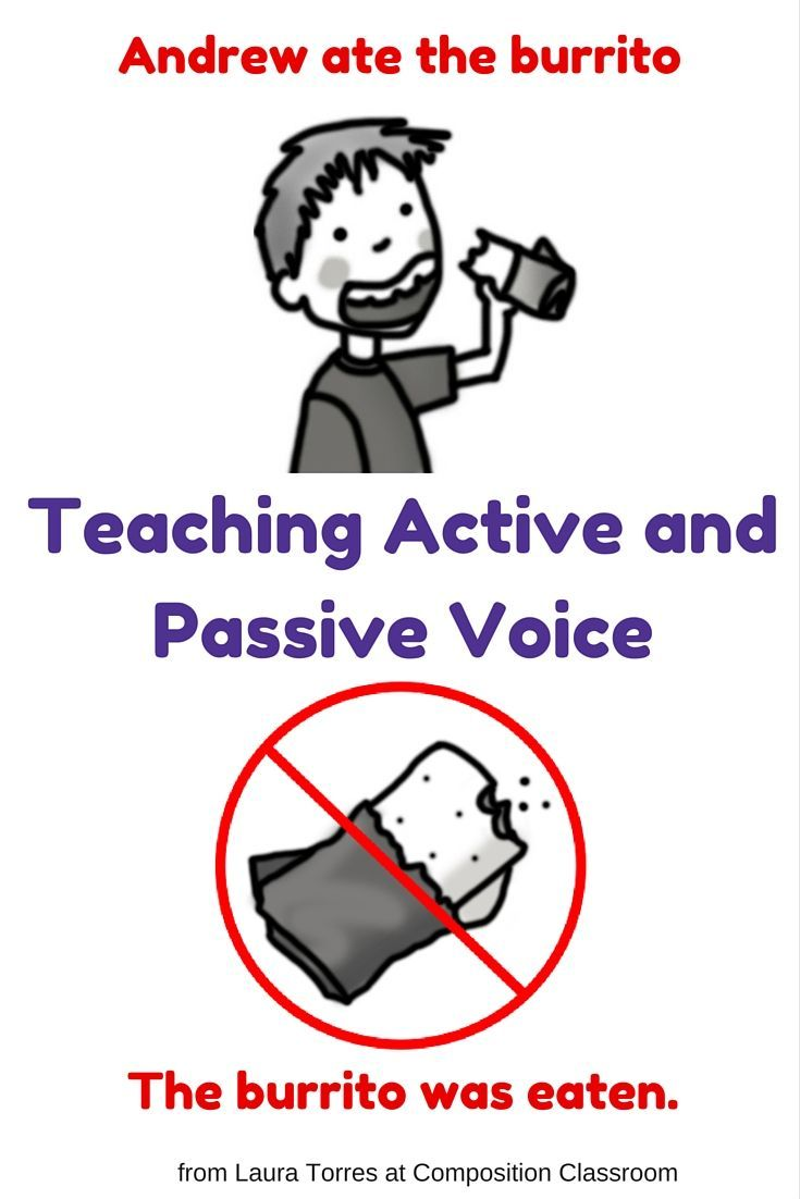 how to change from passive to active voice
