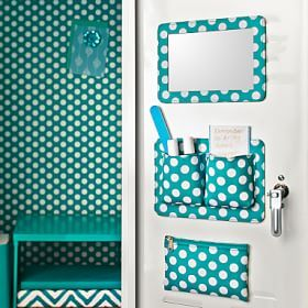 Pool Dot Mirror, Pockets + Pouch #PBteen