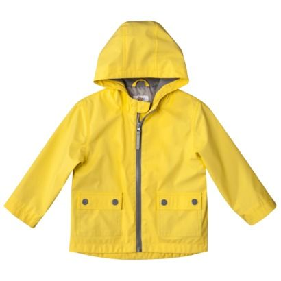 Circo infant toddler boys 39 raincoat easter gifts for Boden yellow raincoat