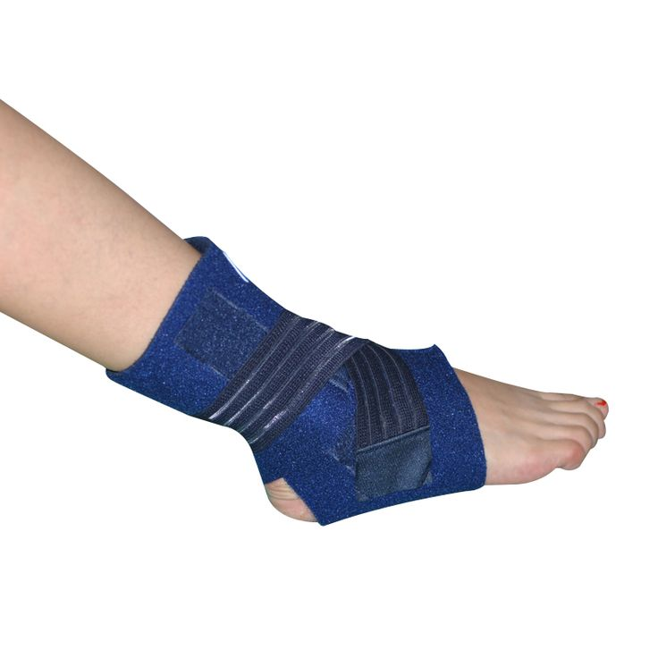 SHUCI Foot brace Elastic Adjustable Ankle Sports Support Orthosis Ankle Brace with Strap posture corrector Breathable HA-12