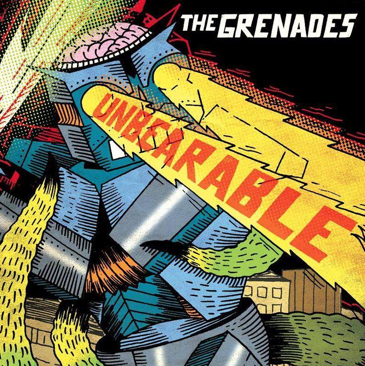 """#Punk Reviews:  THE GRENADES: Unbearable http://www.punkadeka.it/the-grenades-unbearable/ Dopo""""Get In Trouble""""riecco i romanacci Grenades con il nuovo album """"Unbearable"""",uscito poche settimane fa per Lonely Raven Records e Let's Goat Rec. Il quartetto capitolino sforna un disco da 9 pieno in pagella (la perfezione per me si chiama solo Bad Religion), f..."""