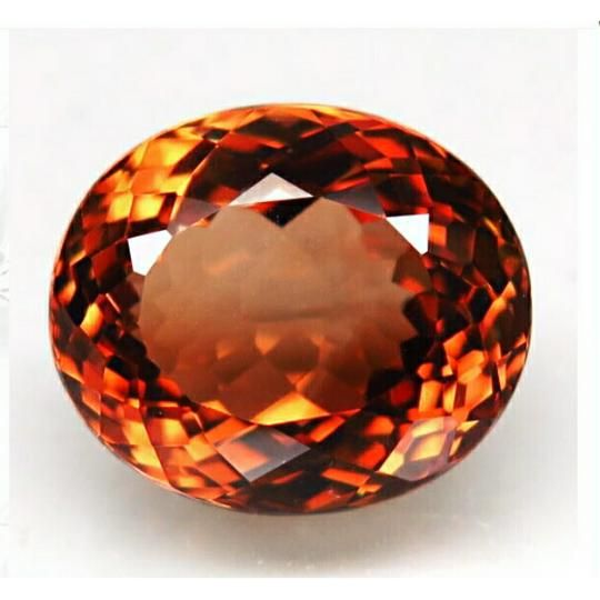 natural SPARKLING top imperial topaz brazil 13.66ct