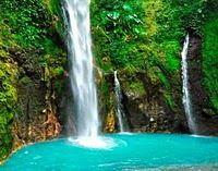 Air Terjun Dua Warna  - Sibolangit - Sumatera Utara - Wisata Alam