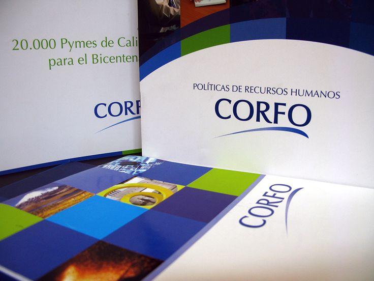 Línea gráfica corporativa CORFO