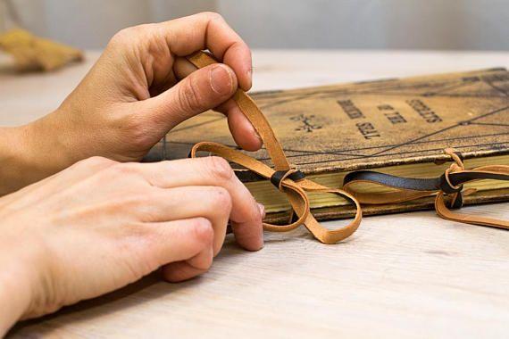 Leather Journal Vintage Personalised Notebook Handmade
