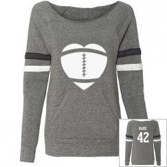 Custom Football Mom Shirts, Hoodies, Tank Tops, & More