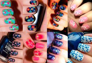 8 formas de pintar uñas