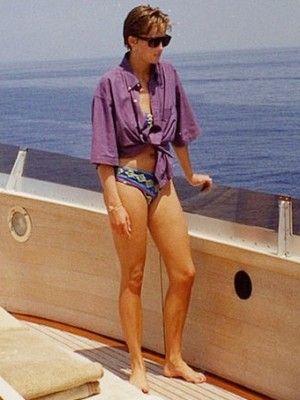 Causa revuelo foto de la princesa Diana en bikini (FOTO)   PeopleenEspanol.com