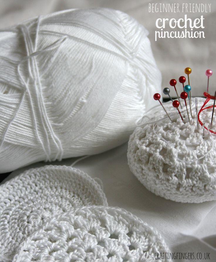 crochet pincushion: