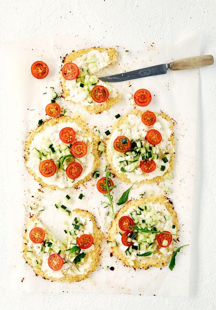 Kesäiset kukkakaalipizzat | K-ruoka #kaali #kesä