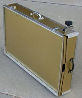 east coast crates makes the finest aluminum folding dog crates for dog shows for the ultimate