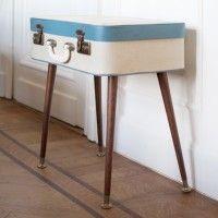 koffertafel om zelf te maken, leuk voor in huis! DIY