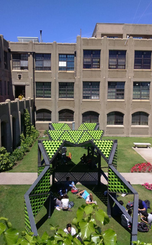 Tetralux: generando nuevos espacios públicos en base al reciclaje de cajas de leche,Reptilia. Image Cortesia de Tetralux Arquitectos