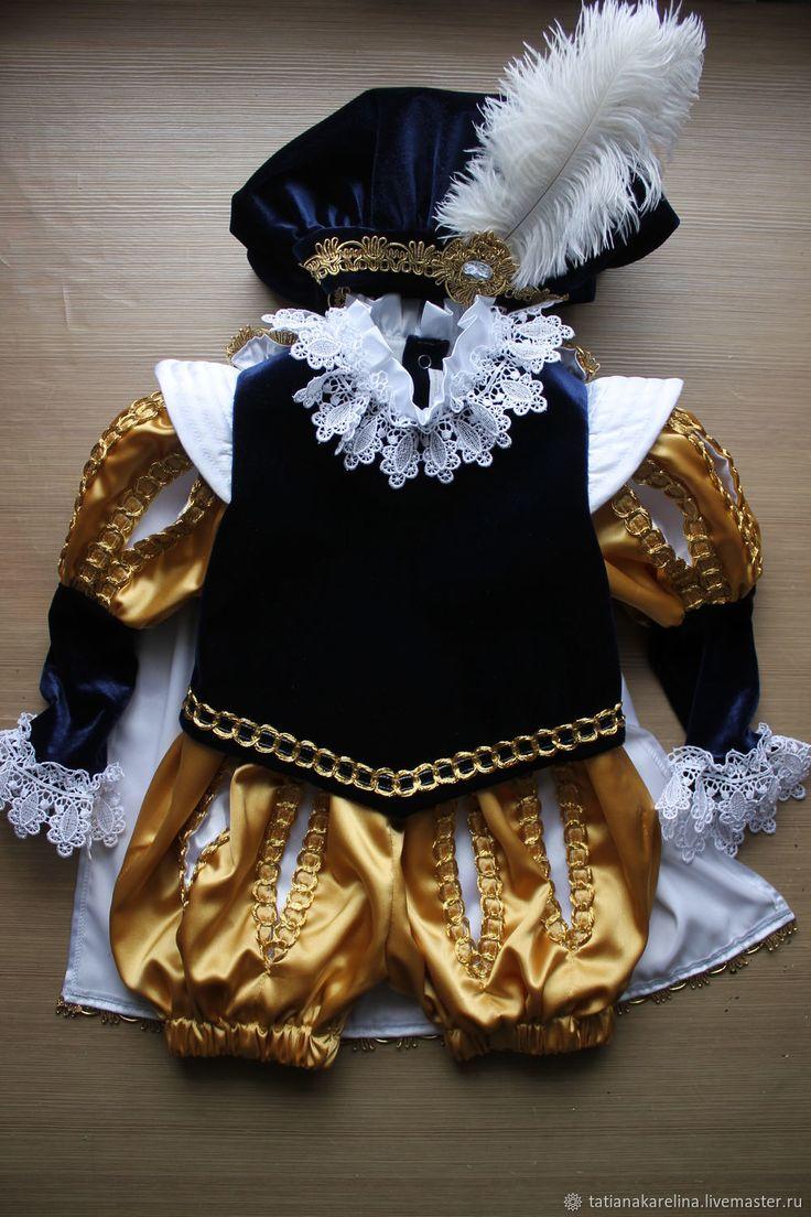 """Купить Новогодний костюм """"Золотой Принц"""" в интернет магазине на Ярмарке Мастеров"""