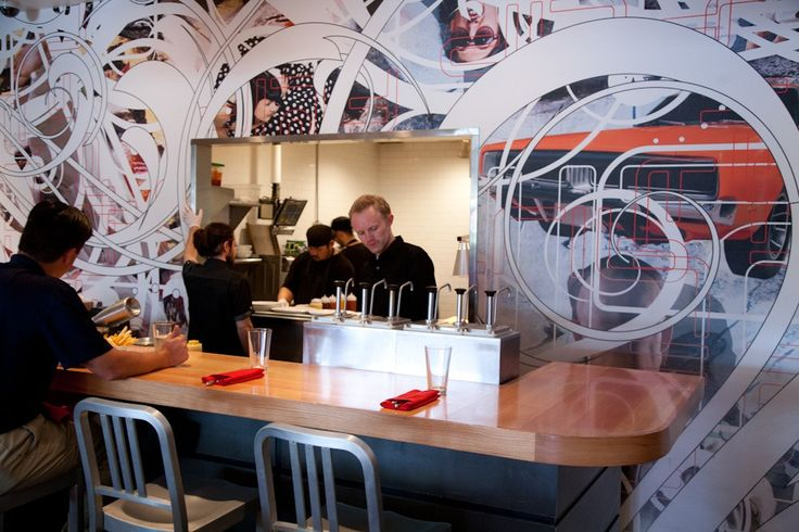 FLIP Burger Boutique: At 1587  Howell Mill, north of 17th Street, this is a fun, casual burger spot with its chef Top Chef participant and Top Chef  All-Stars winner Richard Blais. It has a sleek décor with a burger bar where you can eat and watch the chefs. I loved my beet salad and my lamb burger with arugula and goat cheese was amazing. #globalphile #travel #tips #destinations #lonelyplanet #vacation #atlanta #georgia #foodie #burgers http://globalphile.com/destination/atlanta-georgia/