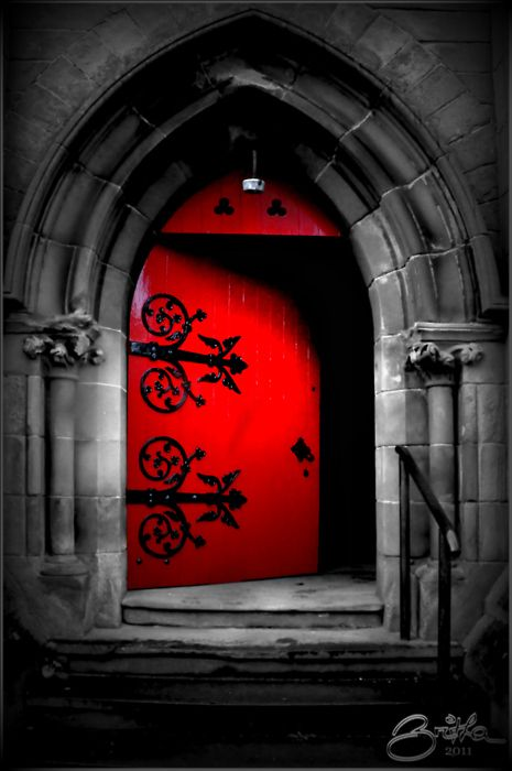 Red Door...I give you my heart.