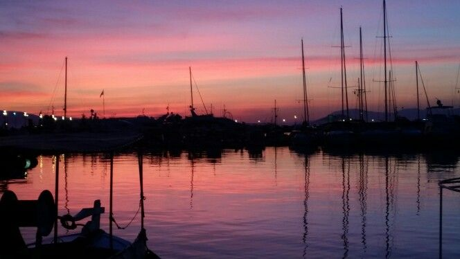 Beautiful colours- aigina-greek island