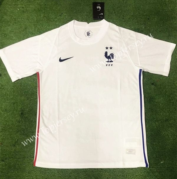 2020 2021 France Away White Thailand Soccer Jersey Aaa 403 In 2020 Soccer Jersey Football Sweater Soccer