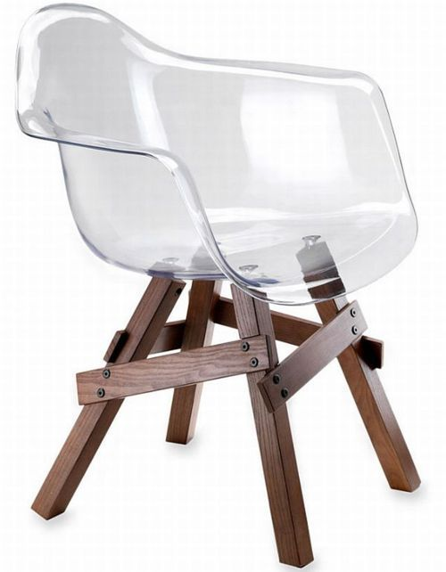 See through chair
