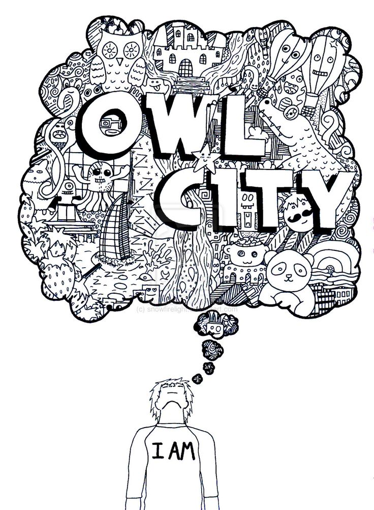 Owl City Doodle by snowfirelight.deviantart.com on @deviantART