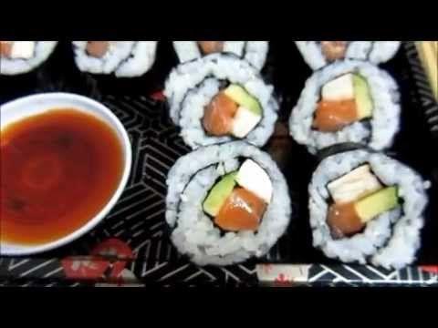 Cocina: Como preparo el Sushi. - YouTube (12:20->)
