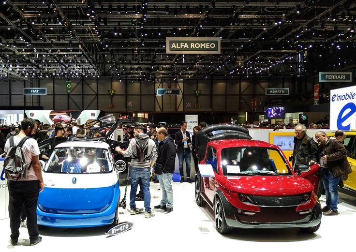 Zero EM2 Space and Microlino at the 87th Geneva International Motor Show 2017! #Tazzari #EV #zeroemission #electricvehicles #zero #ZZ #electriccar #TazzariEV #tazzarielectric #Genevacarshow #genevacarshow2017 #gimsswiss #ginevra #motorshow