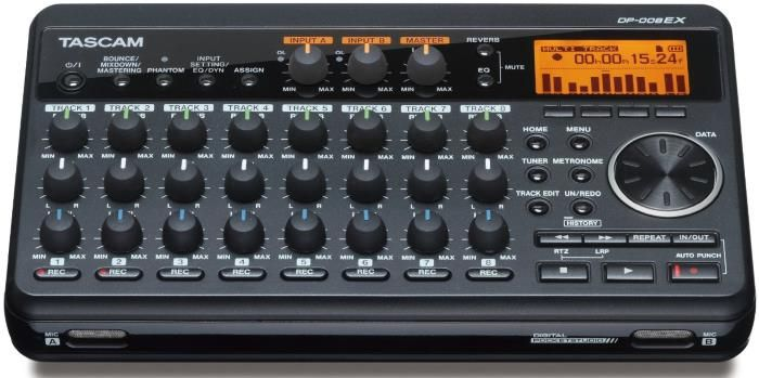 TASCAM DP-008EX - 8 Track Digital Recorder