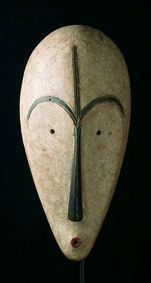 Ngil Mask by the Fang People of Gabon