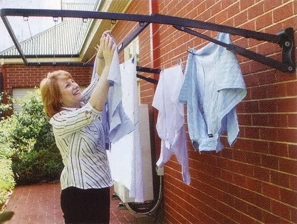 The Convenient Sturdy Outdoor Clothesline Laundry And