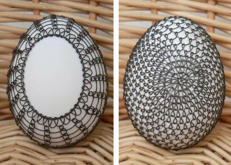 Week of Wire ~ Egg Decorating