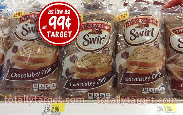 New Pepperidge Farm Printable Coupons plus Great Deal on Swirl Bread - as Low as 99¢ at Target
