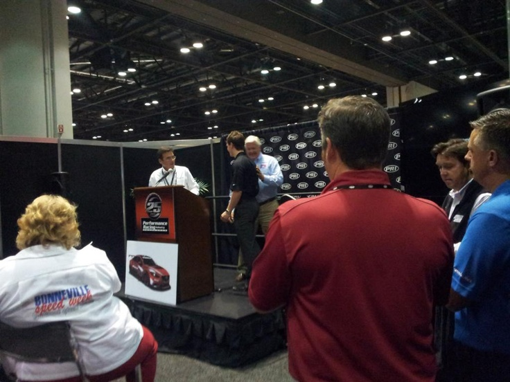 The 2012 PRI boasted many speakers, all outlining the future of racing products and strategies.