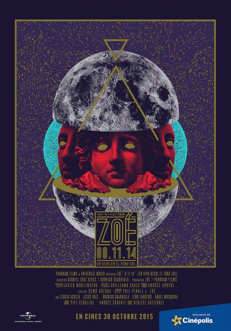"""#News // Zoé estrenará en salas de cine su """"En vivo Foro Sol"""" ¿Listos?"""
