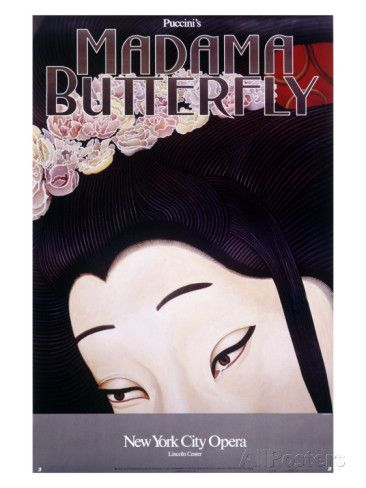 New York City, Madame Butterfly Giclee Print at AllPosters.com