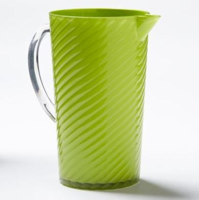 The perfect summer pitcher. Bright, durable and easy to clean. Patio ready!