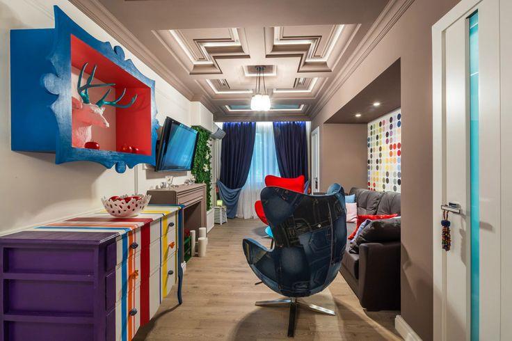 Гостиная, холл в цветах: черный, серый, светло-серый, бежевый. Гостиная, холл в стилях: эклектика.