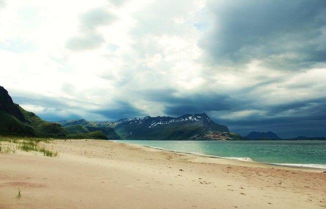 Sandvikstranden and Sandhornet, Norway. Photo by Ida Nova