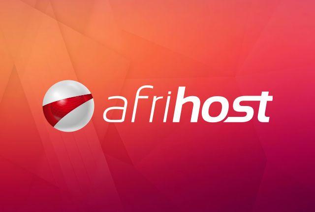 Afrihost logo on background