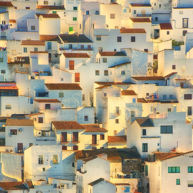 Casares, Andalusia, Southern Spain. The white painted houses. I would like to go to Spain one day.