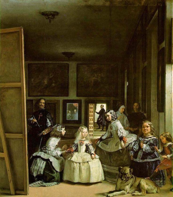 Charles Fonseca: Velasquez: Las Meninas (1656) - Prado, Madrid