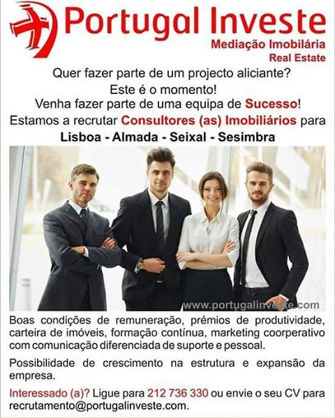 www.portugalinveste.com - Quer fazer parte de um projecto aliciante?