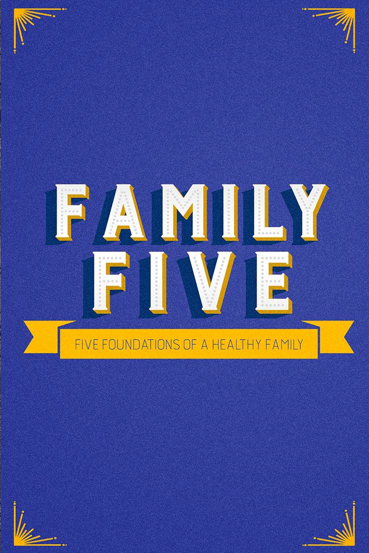 """Family Five"""" outlines five different biblical principles"""
