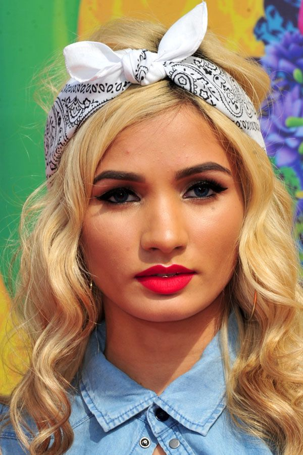 Pia Mia Perez at the 2014 Kids' Choice Awards: http://beautyeditor.ca/2014/04/01/kids-choice-awards-2014/